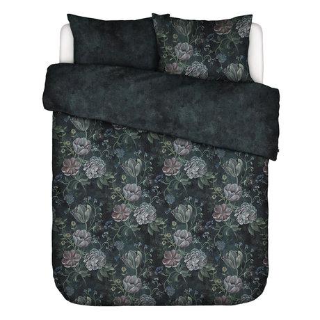 ESSENZA Bettbezug Elizabeth dunkelblau bunt Textil 240x220cm - inkl. Kissenbezug 2x 60x70cm