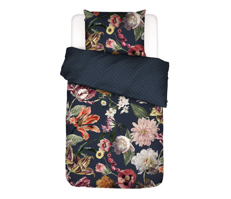 ESSENZA Bettbezug Filou, dunkelblau, buntes Textil 140x220cm - inkl. Kissenbezug 60x70cm