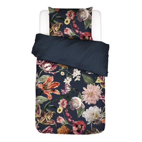 ESSENZA Housse de couette Filou, bleu foncé, textile multicolore 140x220cm - Taie d'oreiller incluse 60x70cm
