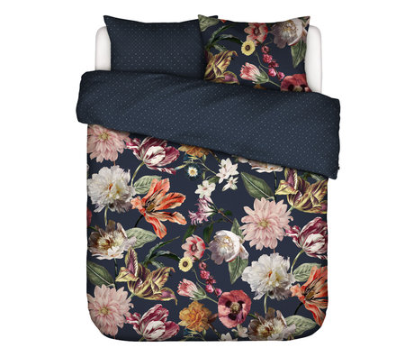 ESSENZA Duvet cover Filou, dark blue, multicolour textile 200x220cm - incl. Pillowcase 2x 60x70cm