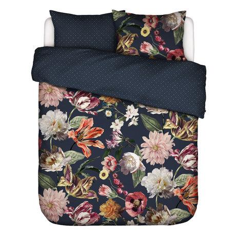 ESSENZA Bettbezug Filou, dunkelblau, mehrfarbiges Textil 200x220cm - inkl. Kissenbezug 2x 60x70cm