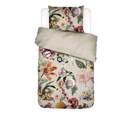 ESSENZA Housse de couette Filou sable, tissu multicolore, 140x220cm - Taie d'oreiller incluse 60x70cm