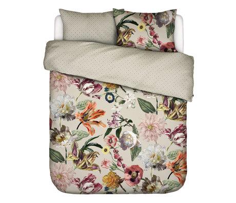 ESSENZA Dekbedovertrek Filou zand bruin multicolour textiel 200x220cm - incl. kussensloop 2x 60x70cm