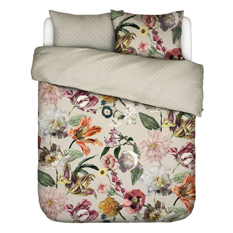 ESSENZA Duvet cover Filou sand brown multicolour textile 200x220cm - incl. Pillowcase 2x 60x70cm
