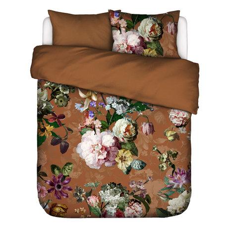 ESSENZA Duvet cover Fleurel brown multicolour textile 240x220cm - incl. Pillowcase 2x 60x70cm