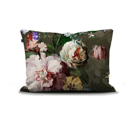 ESSENZA Cushion cover Fleurel olive green multicolour multicolour textile 60x70cm