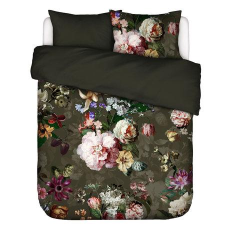 ESSENZA Duvet cover Fleurel olive green multicolour textile 240x220cm - incl. Pillowcase 2x 60x70cm