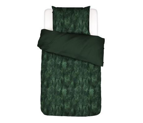ESSENZA Dekbedovertrek Gaga groen multicolour textiel 140x220cm - incl. kussensloop 60x70cm
