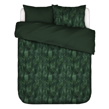 ESSENZA Housse de couette Gaga vert multicolore textile 260x220cm - Taie d'oreiller incluse 2x 60x70cm