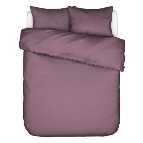 ESSENZA Housse de couette Guy Dusty lilas violet textile 200x220cm - Taie d'oreiller incluse 2x 60x70cm