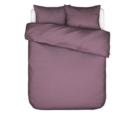 ESSENZA Dekbedovertrek Guy Dusty lila paars textiel 260x220cm - incl. kussensloop 2x 60x70cm