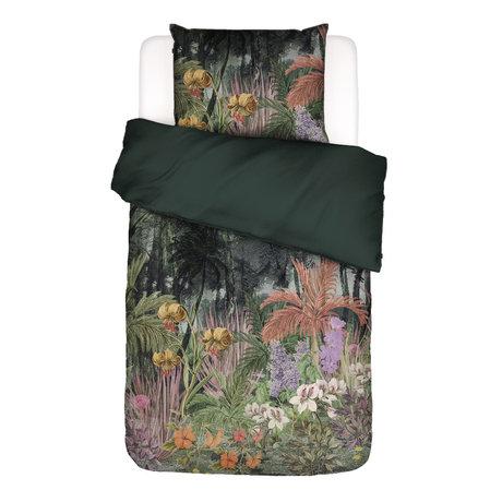 ESSENZA Bettbezug Igone grün bunt Textil 140x220cm - inkl. Kissenbezug 60x70cm