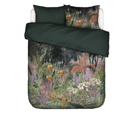 ESSENZA Duvet cover Igone green multicolour textile 200x220cm - incl. Pillowcase 2x 60x70cm