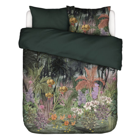 ESSENZA Bettbezug Igone grün mehrfarbig Textil 200x220cm - inkl. Kissenbezug 2x 60x70cm