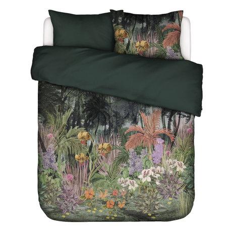 ESSENZA Dekbedovertrek Igone groen multicolour textiel 200x220cm - incl. kussensloop 2x 60x70cm