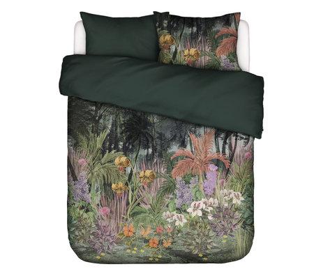 ESSENZA Housse de couette Igone vert multicolore textile 260x220cm - avec taie d'oreiller 2x 60x70cm