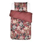 ESSENZA Bettbezug Luna Dusty Marsala pink buntes Textil 140x220cm - inkl. Kissenbezug 60x70cm