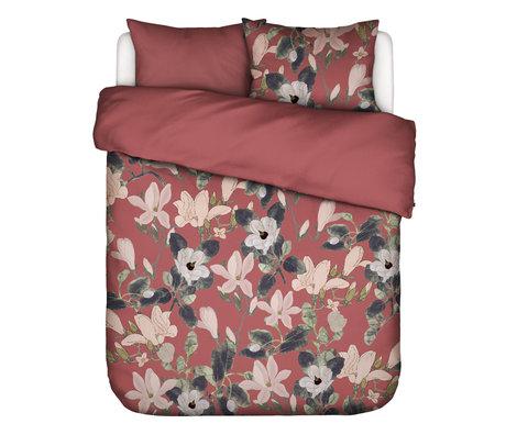 ESSENZA Dekbedovertrek Luna Dusty Marsala roze multicolour textiel 200x220cm - incl. kussensloop 2x 60x70cm