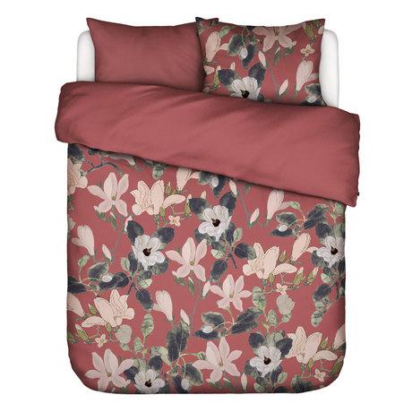 ESSENZA Dekbedovertrek Luna Dusty Marsala roze multicolour textiel 240x220cm - incl. kussensloop 2x 60x70cm