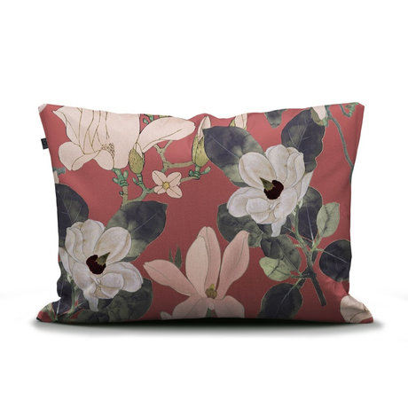 ESSENZA Taie d'oreiller Luna Dusty Marsala rose multicolore multicolore textile 60x70cm
