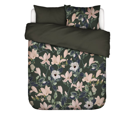 ESSENZA Bettbezug Luna grün mehrfarbiges Textil 200x220cm - inkl. Kissenbezug 2x 60x70cm