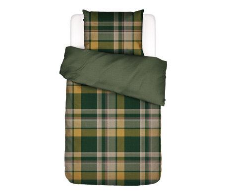 ESSENZA Dekbedovertrek Marillyn groen multicolour textiel 140x220cm - incl. kussensloop 60x70cm