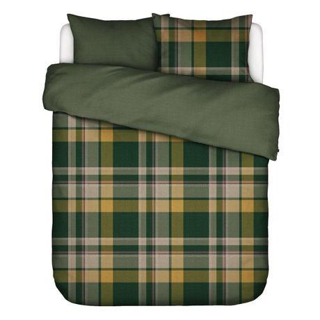 ESSENZA Dekbedovertrek Marillyn groen multicolour textiel 260x220cm - incl. kussensloop 2x 60x70cm