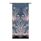 Urban Cotton Wandkleed Blue denim organisch katoen 130x60x0,4cm