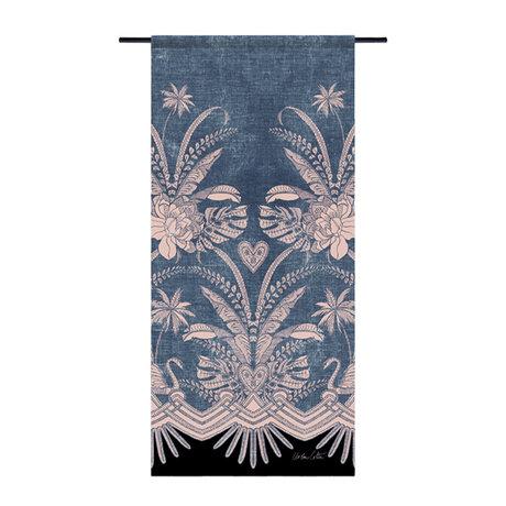 Urban Cotton Tapisserie Blue Denim Bio-Baumwolle 130x60x0,4 cm