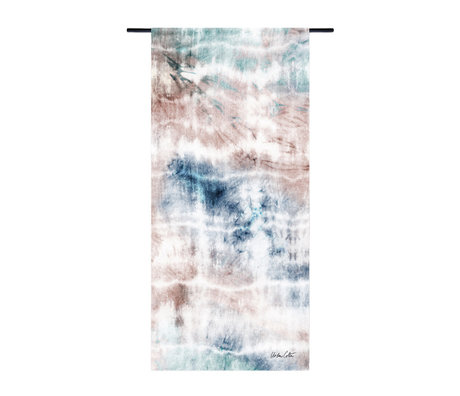 Urban Cotton Tapestry Flow en coton bio 130x60x0.4 cm
