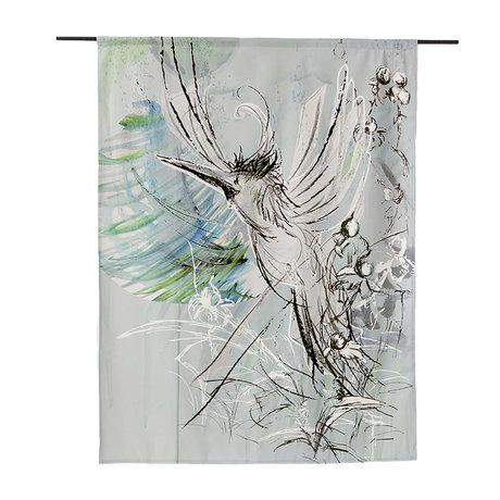 Urban Cotton Wandkleed Free Flight organisch katoen verkrijgbaar in 3 maten