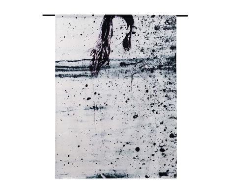 Urban Cotton Wandkleed Storm organisch katoen verkrijgbaar in 3 maten