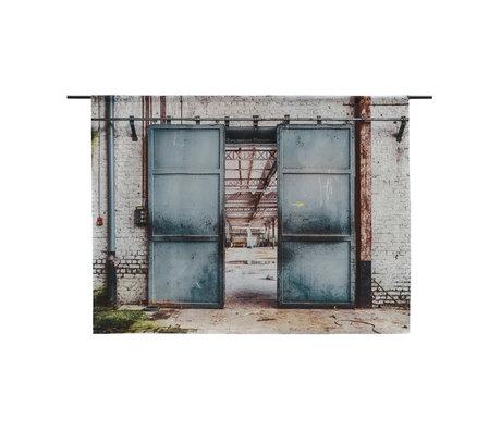 Urban Cotton Wandkleed Spinning Doors organisch katoen verkrijgbaar in 3 maten