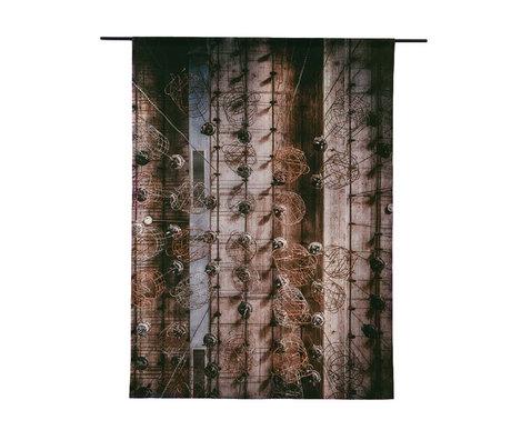 Urban Cotton Wandkleed Hanging Baskets organisch katoen verkrijgbaar in 3 maten
