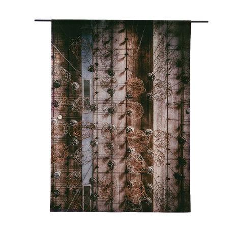 Urban Cotton Tapisserie en coton biologique Hanging Pankets disponible en 3 tailles
