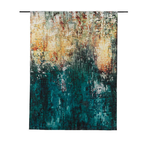 Urban Cotton Tapestry The Garden organic cotton available in 3 sizes