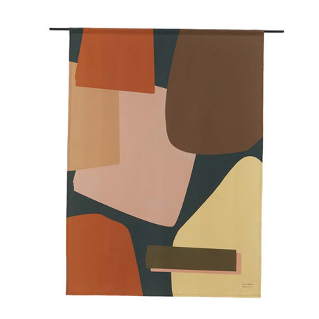Urban Cotton Nuance organic cotton tapestry available in 3 sizes