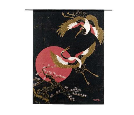 Urban Cotton Wandkleed Japanese Beauty organisch katoen verkrijgbaar in 3 maten
