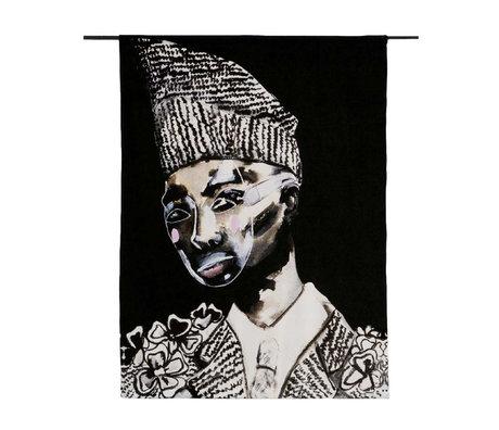 Urban Cotton Wandkleed Le Suit Limited Edition organisch katoen 177x130x0,6cm