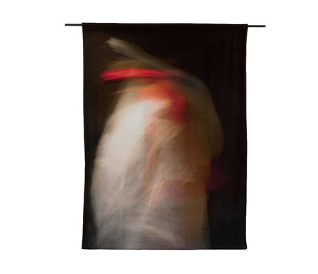 Urban Cotton Wandkleed Abundance Limited Edition organisch katoen 177x130x0,6cm