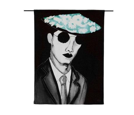 Urban Cotton Mr. Teppich Kühle Bio-Baumwolle 177x130x0,6 cm