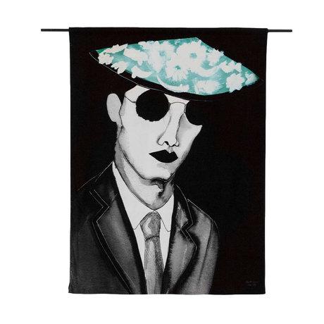 Urban Cotton Wandkleed Mr. Cool organisch katoen 177x130x0,6cm