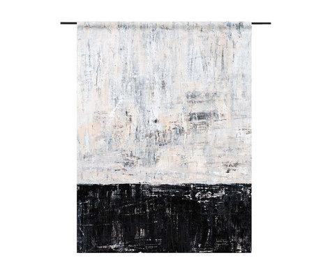 Urban Cotton Wandtuch Duality Bio-Baumwolle in 3 Größen erhältlich