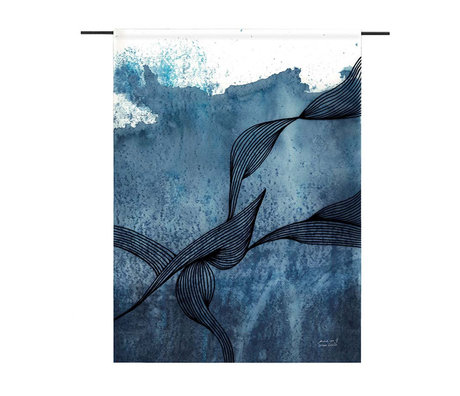 Urban Cotton Walls Laws of Motion organic cotton available in 3 sizes