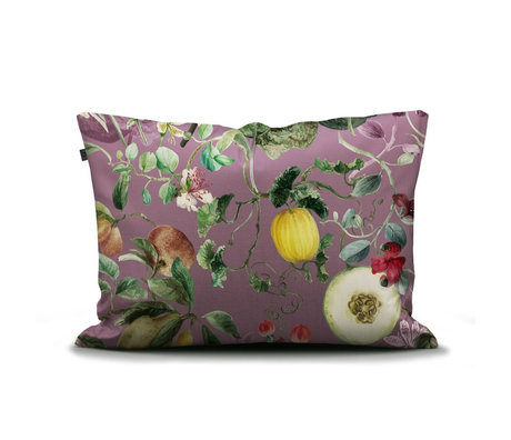 ESSENZA Kussensloop Mary lila multicolour textiel 60x70cm