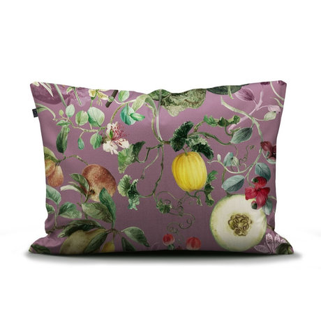 ESSENZA Kissenbezug Mary lila mehrfarbiges Textil 60x70cm