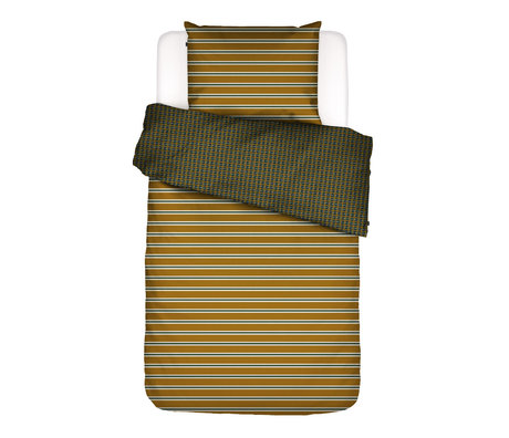 ESSENZA Duvet cover Meg ocher yellow multicolour textile 140x220cm - incl. Pillowcase 60x70cm