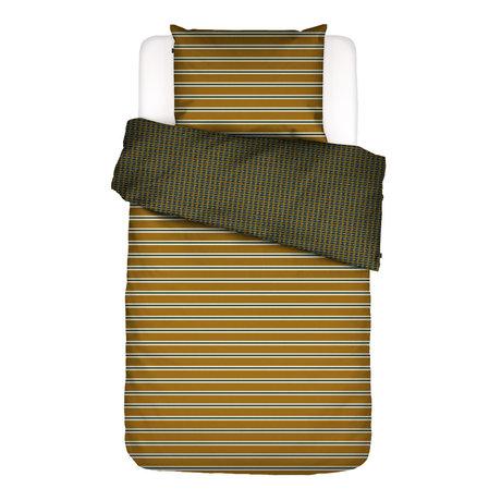 ESSENZA Bettbezug Meg ockergelb bunt Textil 140x220cm - inkl. Kissenbezug 60x70cm