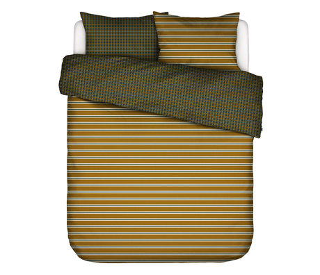 ESSENZA Duvet cover Meg ocher yellow multicolour textile 240x220cm - incl. 2x pillowcase 60x70cm