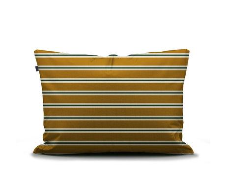 ESSENZA Taie d'oreiller Meg ocre jaune multicolore textile 60x70cm